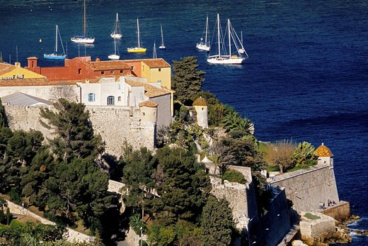 Stock Photo: 1566-441830 The citadel of Villefranche-sur-Mer. Alpes Maritimes, France
