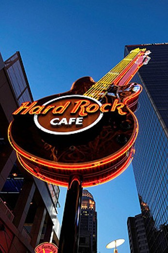 Fourth Street Live restaurant and entertainment district downtown Louisville Kentucky KY : Stock Photo