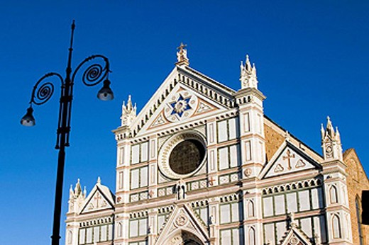 Church of the Santa Croce, Florence. Tuscany, Italy : Stock Photo