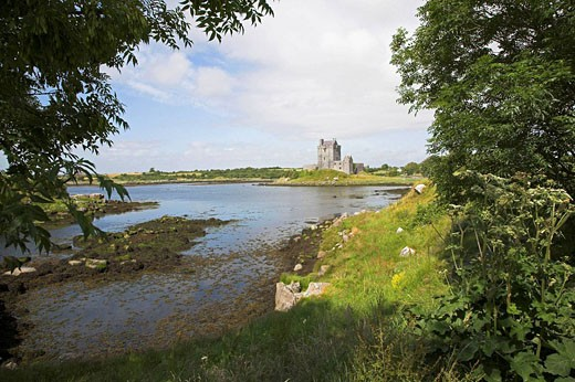 Dunguaire Castle, Kinvarra, County Galway, Ireland : Stock Photo