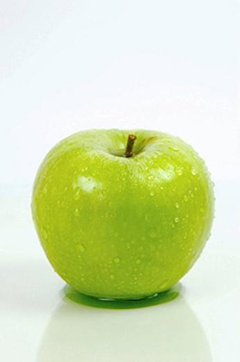 Green Apple : Stock Photo