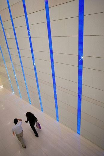 Commercail center in Kowloon, Hong Kong, China : Stock Photo