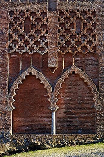 Stock Photo: 1566-448151 Castle tower detail, Aracena. Huelva province, Andalusia, Spain