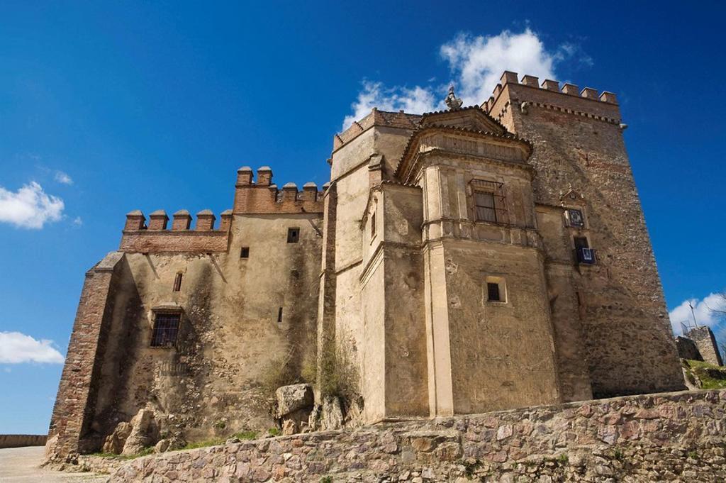 Stock Photo: 1566-448156 13th century Castle. Aracena. Huelva province. Spain