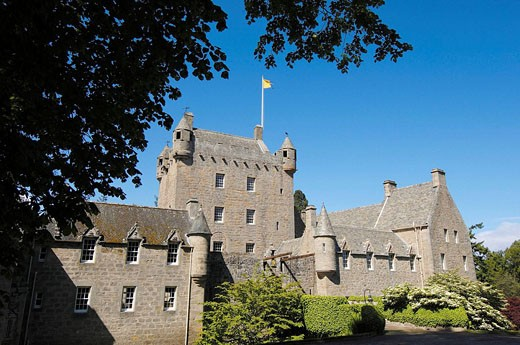 Cawdor Castle near Inverness, Inverness Shire, Northern Higlands, Scotland, UK : Stock Photo