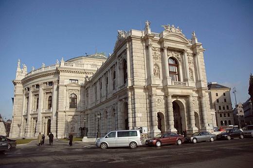 Stock Photo: 1566-450393 Burgtheater, Vienna. Austria
