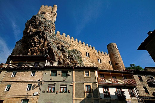 Frias. Burgos province. Castile-Leon. Spain : Stock Photo