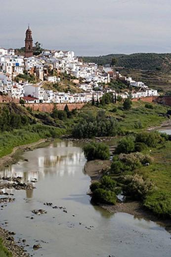 Stock Photo: 1566-453155 Montoro and Guadalquivir river. Cordoba province, Andalucia, Spain