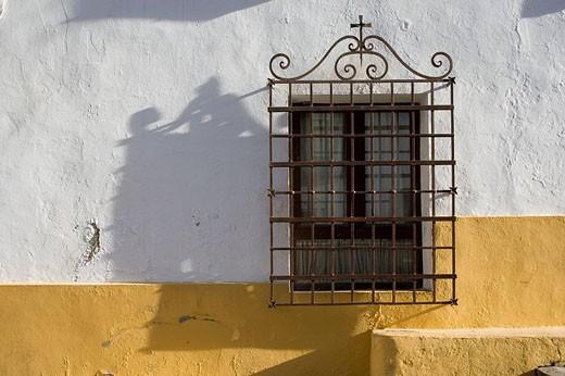 Window, Cordoba. Andalucia, Spain : Stock Photo
