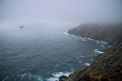 Stock Photo: 1566-455394 Cape Finisterre. La Coruña province, Galicia, Spain
