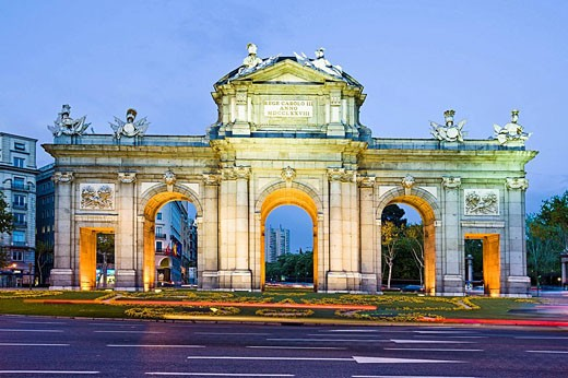 Puerta de Alcala, Madrid, Spain : Stock Photo
