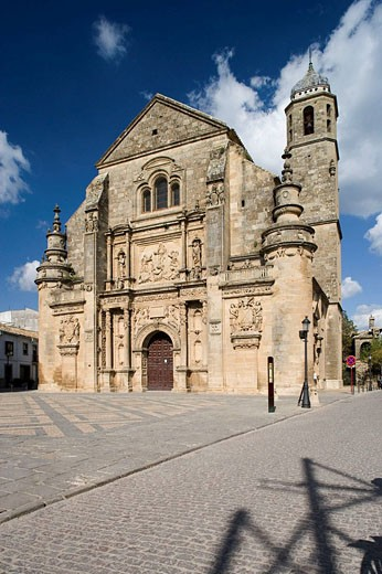 Church of the Salvador (16th century), Ubeda. Jaen province, Andalucia, Spain : Stock Photo
