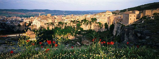 Cuenca, Ciudad Real-province, Castile-La Mancha, Spain : Stock Photo