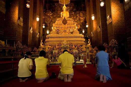 Thailand, Bangkok, Wat Pho : Stock Photo