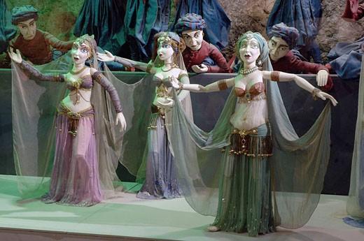 Stock Photo: 1566-457804 Marionette Museum. Fortress Hohensalzburg. Salzburg. Austria