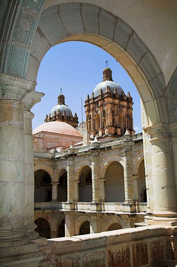 Museo de las Culturas de Oaxaca and Templo de Santo Domingo, Oaxaca, Oaxaca State, Mexico : Stock Photo