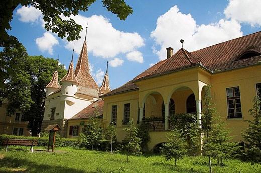 Ecaterina Gate, Poarta Ecaterinei, Catherine´s Gate, Sirul Beethoven, Brasov, Transylvania, Romania : Stock Photo