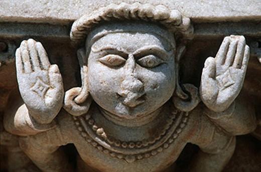 Stock Photo: 1566-460764 India, Rajasthan, Parshvanatha´s Jain temple, Suparshvanath Jain Temple, prostitute temple
