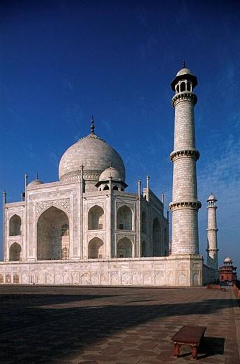 Stock Photo: 1566-460787 India, Uttar Pradesh, Agra, Taj Mahal, Mumtaz Mahal Tomb