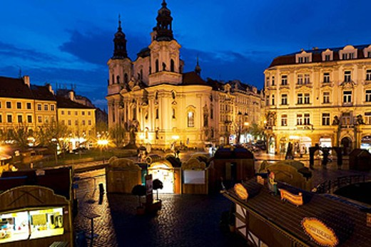 St Nichola´s Church, Prague, Czech Republic : Stock Photo