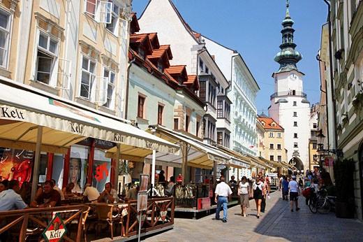 Michael´s Gate, Bratislava, Slovakia : Stock Photo