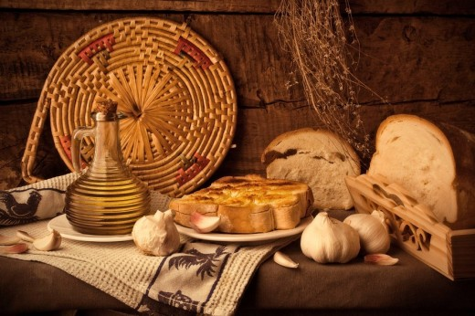 Stock Photo: 1566-463738 desayuno típico andaluz, Tipical spanish breakfast