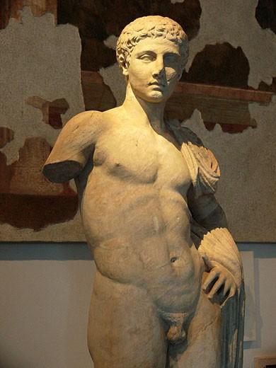 Classic Sculpture, Vatican Museum, Rome, Lazio, Italy : Stock Photo