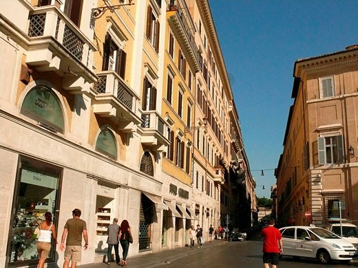 Rome Streets, Lazio, Italy. : Stock Photo