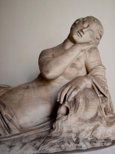 Classic Sculpture, Vatican Museum, Rome, Italy : Stock Photo