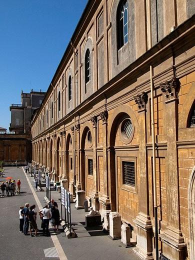 Stock Photo: 1566-463926 Vatican Museum, Vatican City, Rome. Italy