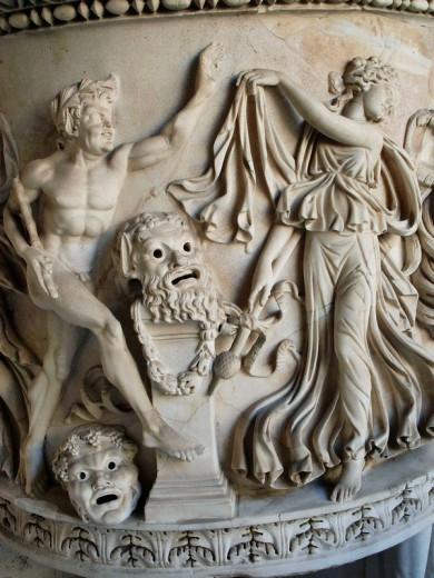 Stock Photo: 1566-463940 Classic Relief. Vatican Museum. Rome, Italy