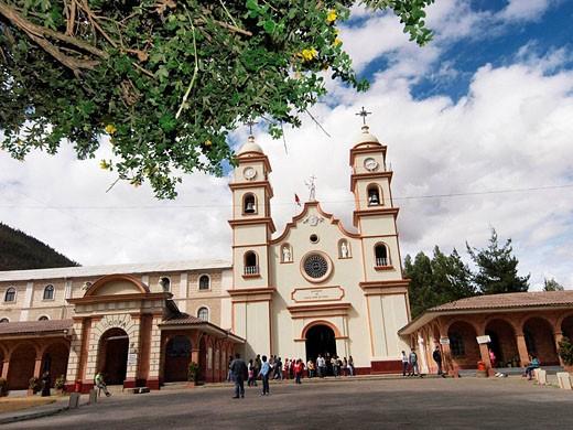 Santa Rosa de Ocopa convent, Perú : Stock Photo