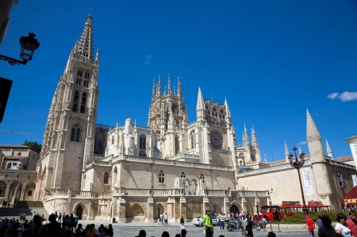 Stock Photo: 1566-464838 Gothic cathedral (13th century). Burgos. Castilla-León. Spain