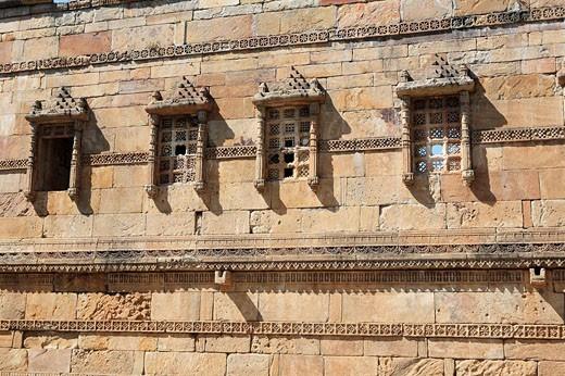 Stock Photo: 1566-465005 Mosque (15th-16th century), UNESCO World Heritage site, Champaner, India