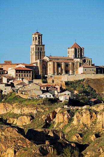 Romanesque collegiate church of Santa Maria la Mayor, Toro. Zamora province, Castilla-Leon, Spain : Stock Photo