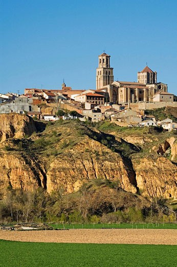 Romanesque collegiate church of Santa Maria la Mayor, Toro. Zamora province, Castilla-Leon, Spain : Stock Photo