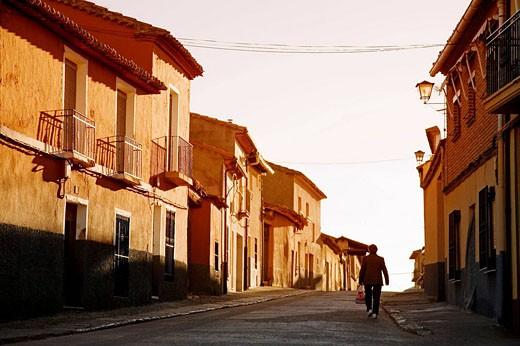 Houses, Toro. Zamora province, Castilla-Leon, Spain : Stock Photo