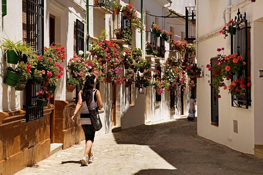 Stock Photo: 1566-465332 Street in the Villa district, Priego de Cordoba. Cordoba province, Andalucia, Spain