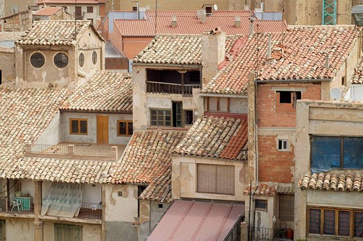 Alcañiz; Comarca del Bajo Aragón; Teruel; Aragón; España : Stock Photo