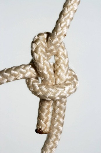 Bowline Knot : Stock Photo