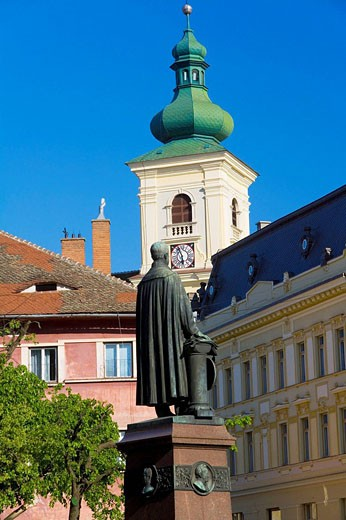Catholic Church, Sibiu, Transylvania, Romania : Stock Photo
