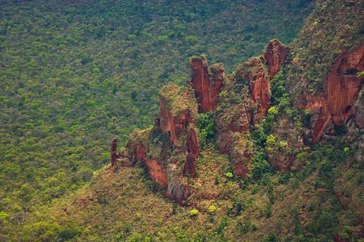 Chapada dos Guimarães National Park. Mato Grosso, Brazil : Stock Photo