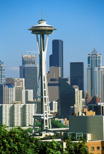 Seattle Washington Skyline : Stock Photo