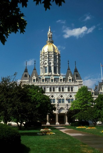 State Capitol building Hartford Connecticut : Stock Photo