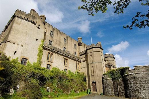 Dunvegan Castle. Isle of Skye. Scotland. U.K. : Stock Photo