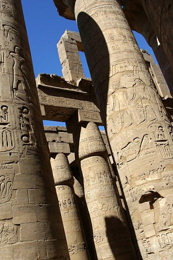 Temple of karnak : Stock Photo