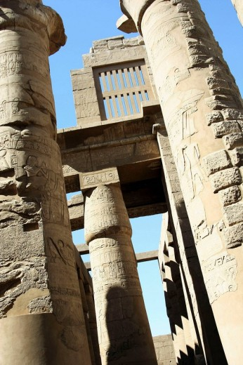 Stock Photo: 1566-475422 Karnak temple, Luxor city, Egypt
