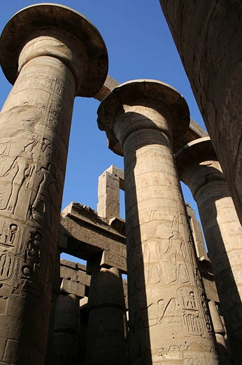 Stock Photo: 1566-475439 Karnak temple, Luxor city, Egypt