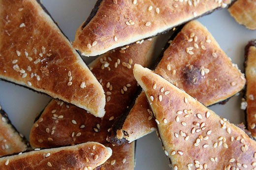 Arabic Pastry with date : Stock Photo