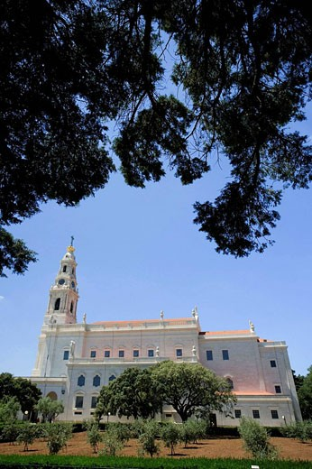 Main Basilica, Fatima, Estremadura, Portugal : Stock Photo